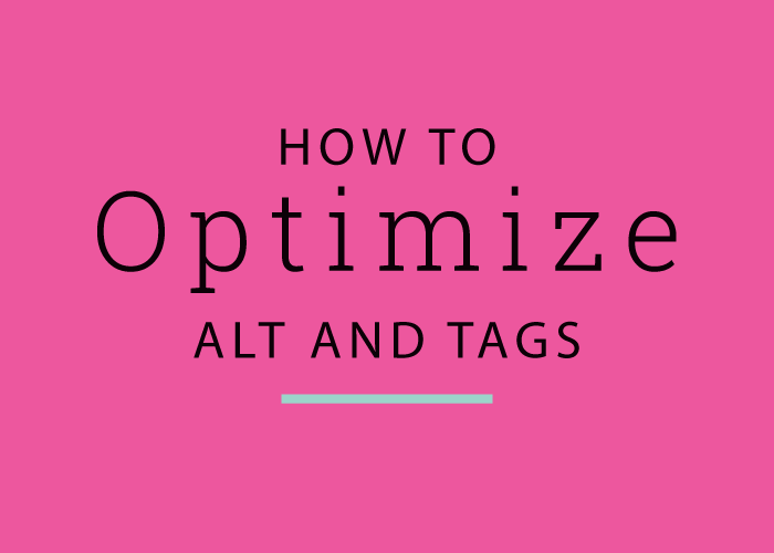 How to Optimize Image Tags